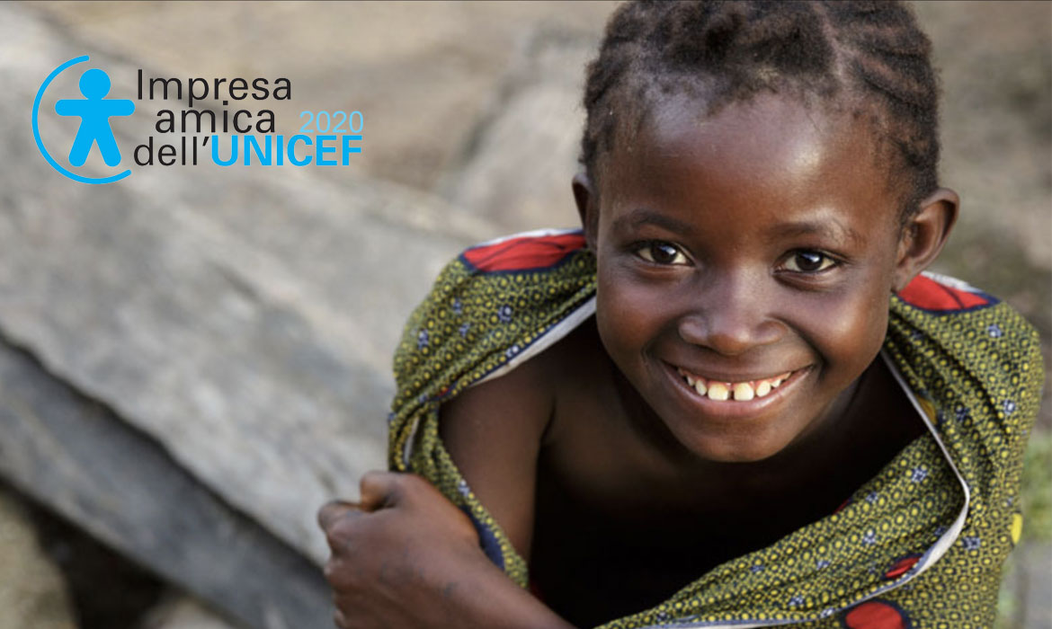 Punto Netto and Unicef together to support vulnerable children